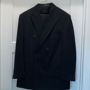 Men's City streets custom double breasted blazer